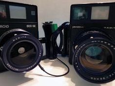 Mamiya Universal VS Polaroid 600SE #film #photography