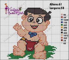 Viviane Pontos e Art's: Graficos da Turma do Chaves Baby