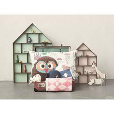 Ferm Living Show Стол Маленький Общежитие розовый / коричневый 33x50cm