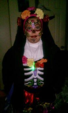 Dia de los Muertos- Halloween in the cold!