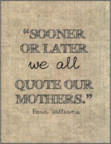 Felíz día mamá! <3