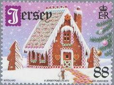 ◙ Jersey, Christmas Postage Stamp. ◙ 2013