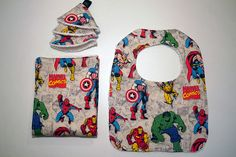 Marvel Comics Baby Gift Set ~ yeah, so getting this!