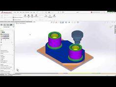 Videos 1 minuto Autodesk Inventor HSMWorks  Inventor HSM  SolidWorks