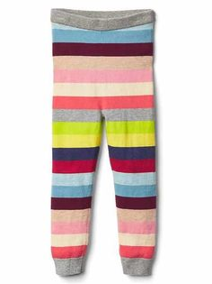 Shop toddler leggings, joggers, and more pants from Gap. Toddler girl leggings are available in full-length, capris, and shorts in fun prints and colors. Baby Kids Clothes, Toddler Girl Outfits, Toddler Leggings, Striped Tights, Baby Gap, Personal Style, Maternity, Pajama Pants, Toddler Stuff