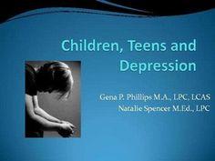 childrenteens-anddepression by natalie S via Slideshare