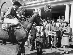 Queen Elizabeth II and Lester Piggott