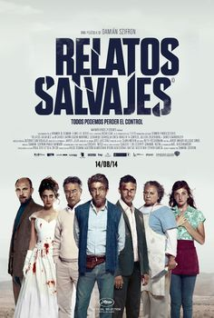Relatos Salvajes (2014. Ricardo Darín, Leonardo Sbaraglia, Oscar Martínez) Inequality, injustice and the demands of the world we live in cause stress and depression for many people. Some of them, however, explode. This is a movie about those people.