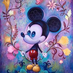 Happy birthday Mickey :: Art by Jeremiah Ketner