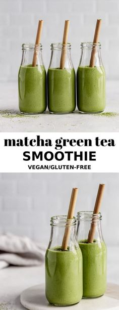 Green smoothie recipes 460985711860480327 - This Matcha Green Tea Smoothie recipe is perfect for a light breakfast or a healthy snack! It's made with fruit, matcha and hemp seeds for some added protein! Source by emilieeats Matcha Green Tea Smoothie, Matcha Drink, Apple Smoothies, Smoothie Detox, Smoothie Drinks, Healthy Smoothies, Healthy Snacks, Healthy Recipes, Energy Boost Smoothie
