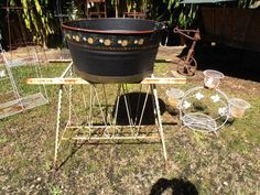www.heathsoldwares.com.au available at Heaths Old Wares, Collectables Antiques and Industrial Antiques. 19-21 Broadway, Burringbar NSW Open 7 days 9am - 5pm phone 0266771181 Plant Stands, Charcoal Grill, Broadway, Industrial, Wire, Antiques, Phone, Outdoor Decor, Home Decor