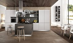 Modern kitchen Kalì #kitchen #furniture http://www.arredo3.com/en ...