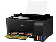 #impressora Impressora Multifuncional Epson EcoTank L3110 - Tanque de Tinta Colorida USB - Magazine Lojamagalu1000 Clique no PIN para ver preço!