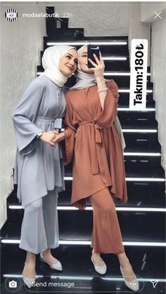 Hijab Fashion Summer, Modest Fashion Hijab, Modern Hijab Fashion, Modesty Fashion, Hijab Fashion Inspiration, Islamic Fashion, Muslim Fashion, Modest Outfits, Fashion Outfits