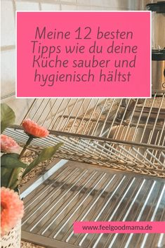 How to keep your kitchen clean and hygienic, - Hausmittel House Cleaning Tips, Cleaning Hacks, Vinyl Blinds, Aluminum Blinds, Recycling Containers, Home Management, Roller Shades, Blinds For Windows, Organization Hacks