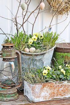 Top 15 Easy Easter Garden Decor Ideas – Backyard Design For Cheap Party Project - Homemade Ideas (3)