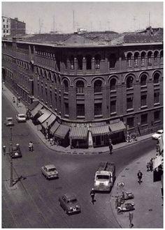 Rafael Castillejo y Zaragoza-Ocio Louvre, Street View, Building, Travel, Zaragoza, Antique Photos, Buildings, Cities, Fotografia