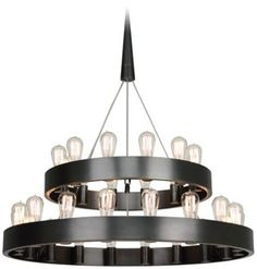 Check out the Robert Abbey Rico Espinet Candelaria 30 Light Chandelier in Deep Patina Bronze Industrial Chandelier, Round Chandelier, Bronze Chandelier, Modern Chandelier, Chandelier Lighting, Modern Lighting, Lighting Design, Outdoor Lighting, Entry Chandelier
