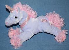 "Best Made Toys plush stuffed Unicorn Purple Pink Mane Hearts soft toy 10"" animal #BestMadeToys"