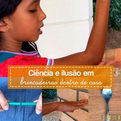 No Tempojunto trazemos 3 brincadeiras com ciência e ilusionismo para você incentivar a vontade do seu filho em descobrir e aprender brincando em casa