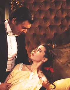 Vivien Leigh and Clark Gable