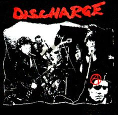 Discharge ''Live Pic'' Back-Patch #punk #rock #clothing #patches www.drstrange.com