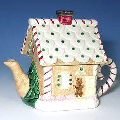 Gingerbread House Teapot