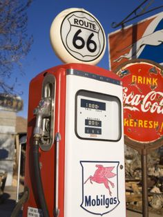 Gas pump - so much retro/classic design in this shot.
