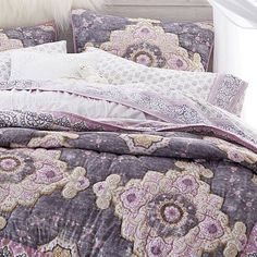 Shop Pottery Barn Teen for all your teen bedding needs! Browse our collection of sheets, duvets, pillow, throws and more and create a cool and unique bedroom. Twin Xl Bedding, Best Bedding Sets, Teen Bedding, Bedding Sets Online, Luxury Bedding Sets, Modern Bedding, Bohemian Comforter, Beige Bed Linen, Bed Sets