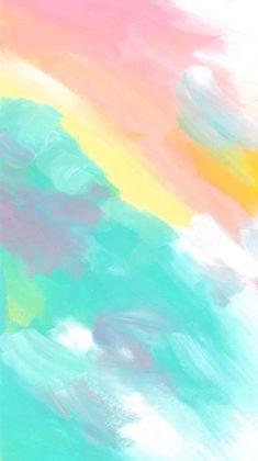 iPhone Hintergrundbild Zitate von Vom Benutzer hochgeladen iPhone Wallpaper Quotes from Uploaded by user # - Unique Wallpaper Quotes Pastel Background, Iphone Background Wallpaper, Aesthetic Iphone Wallpaper, Screen Wallpaper, Aesthetic Wallpapers, Watercolor Background, Watercolor Trees, Watercolor Animals, Watercolor Landscape