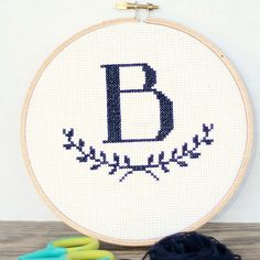 Hey, I found this really awesome Etsy listing at https://www.etsy.com/listing/217375427/monogram-cross-stitch-pattern-with