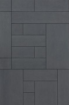 Wall Tiles Grey Texture 24 Ideas For 2019 Paving Texture, Tiles Texture, Floor Patterns, Tile Patterns, Facade Design, Tile Design, Stone Cladding Exterior, Organize Bathroom Countertop, Main Entrance Door Design
