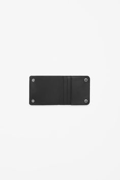 COS image 2 of Folded press button wallet in Black