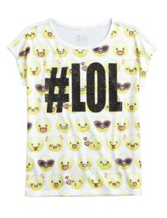Lol Graphic Tee | Justice