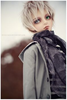 Great ball jointed doll (BJD) photography from Dieux-Faux