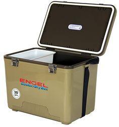 Engel 30 Qt. Cooler/Dry Box - Tan