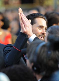 LovefromMars • smacksmash:   HQ - Actor Jared Leto arrives on the...