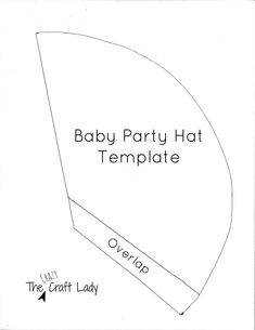 Baby Party Hat Template