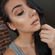 Neutral glowing glitter fairy steeze EYES katvondbeauty High Voltage Eyehellip