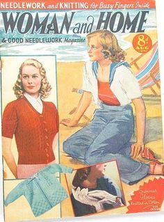 Woman and Home magazine from August 1940