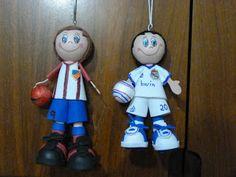 FOFUCHAS. Manualidades y Creaciones Maite: Fofucho futbolista
