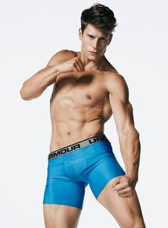 American Idle: Eian Scully For Simons Underwear!
