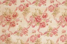 Antique Floral Fabric SB71 Close Up stock photo 19419414 - iStock