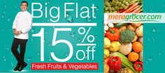 Thank God Its #Wednesday!!!  Enjoy 15% off on Fruits & Vegetables on #Meragrocer bit.ly/Fruit_and_Vegetables Online Supermarket, Fresh Fruits And Vegetables, Health Tips, Snack Recipes, Chips, Yummy Food, Wednesday, God, Flat