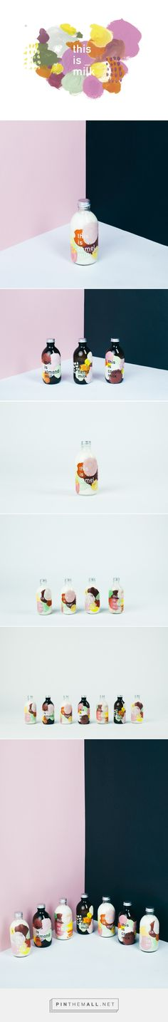 this is _ milk / Packaging design for milk as drink to go. by Daniel Farò