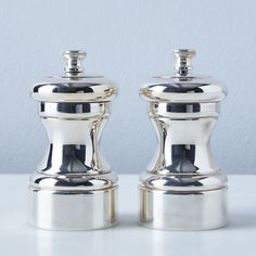 Peugeot Silver-Plated Salt & Pepper Mills