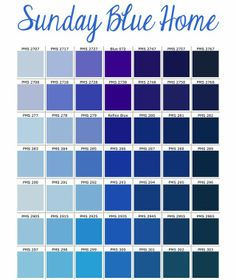 Pantone Couleurs Bleues Plus Colour