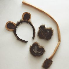 *  Simple DIY Lion Costume