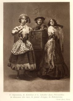 Choreographers and dancers who worked for the Ballets Russes included Massine,