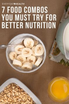 Certain foods just belong together — and no, we're not talking about peanut butter and jelly (although that's definitely delicious!). In combination, some foods not only taste great, but they help you absorb nutrients more effectively.